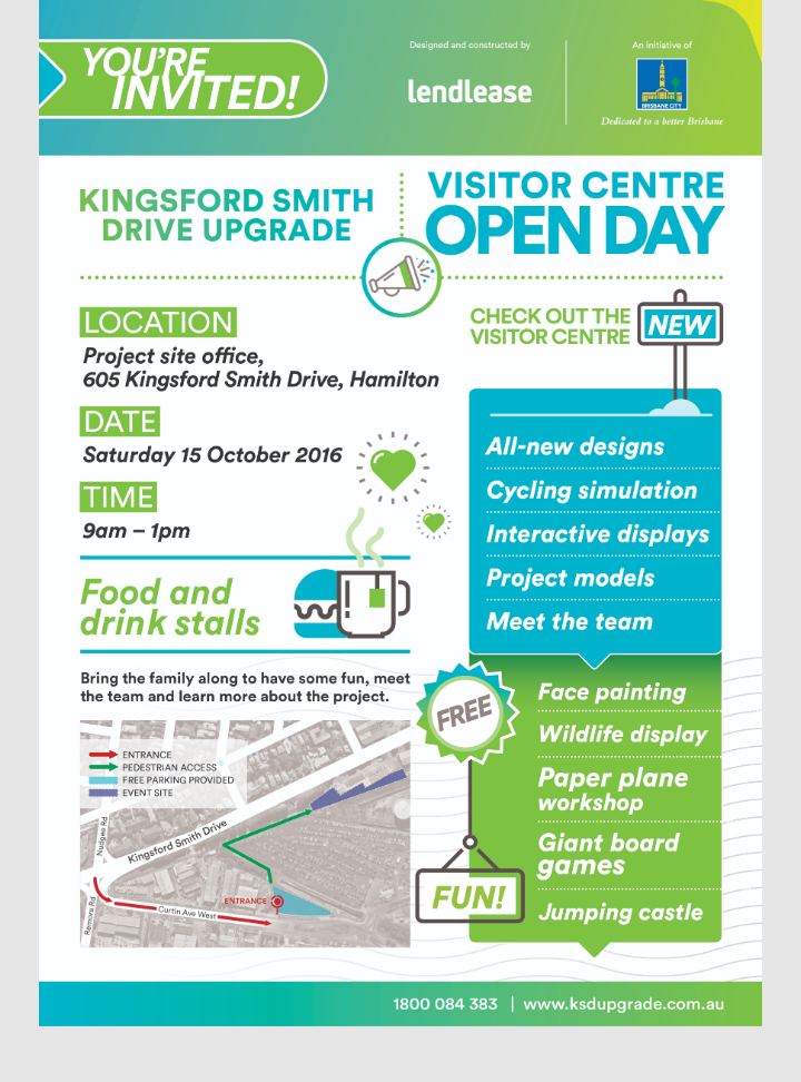 Kingsford Smith Drive Upgrade